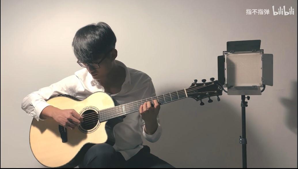【把玩豪琴】破布木的Kevin Ryan吉他-六位数的质感